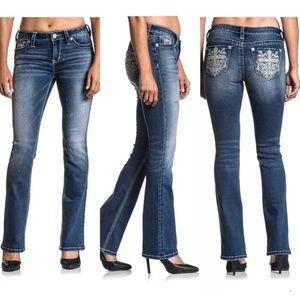 AFFLICTION Women's Denim Jeans JADE STANDARD CALI